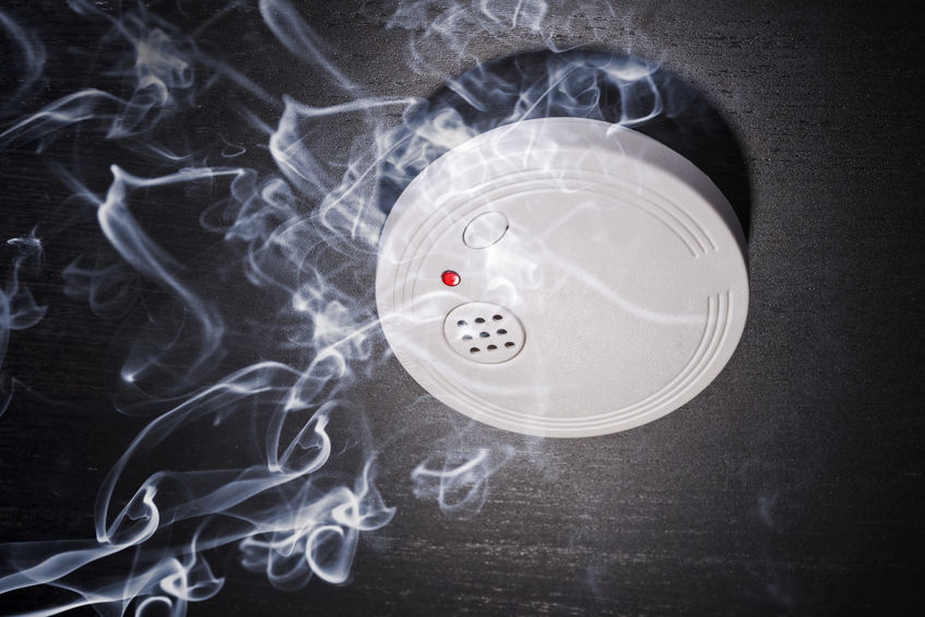 Bayside and Redlands electrical smoke alarms, smoke detectors.